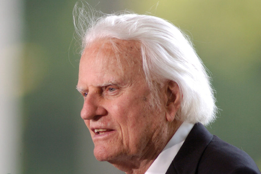 1 morre Billy Graham
